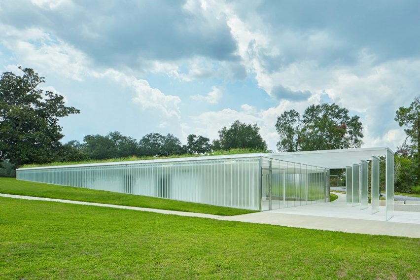 Magnolia Mound Visitors Center by Trahan Architects