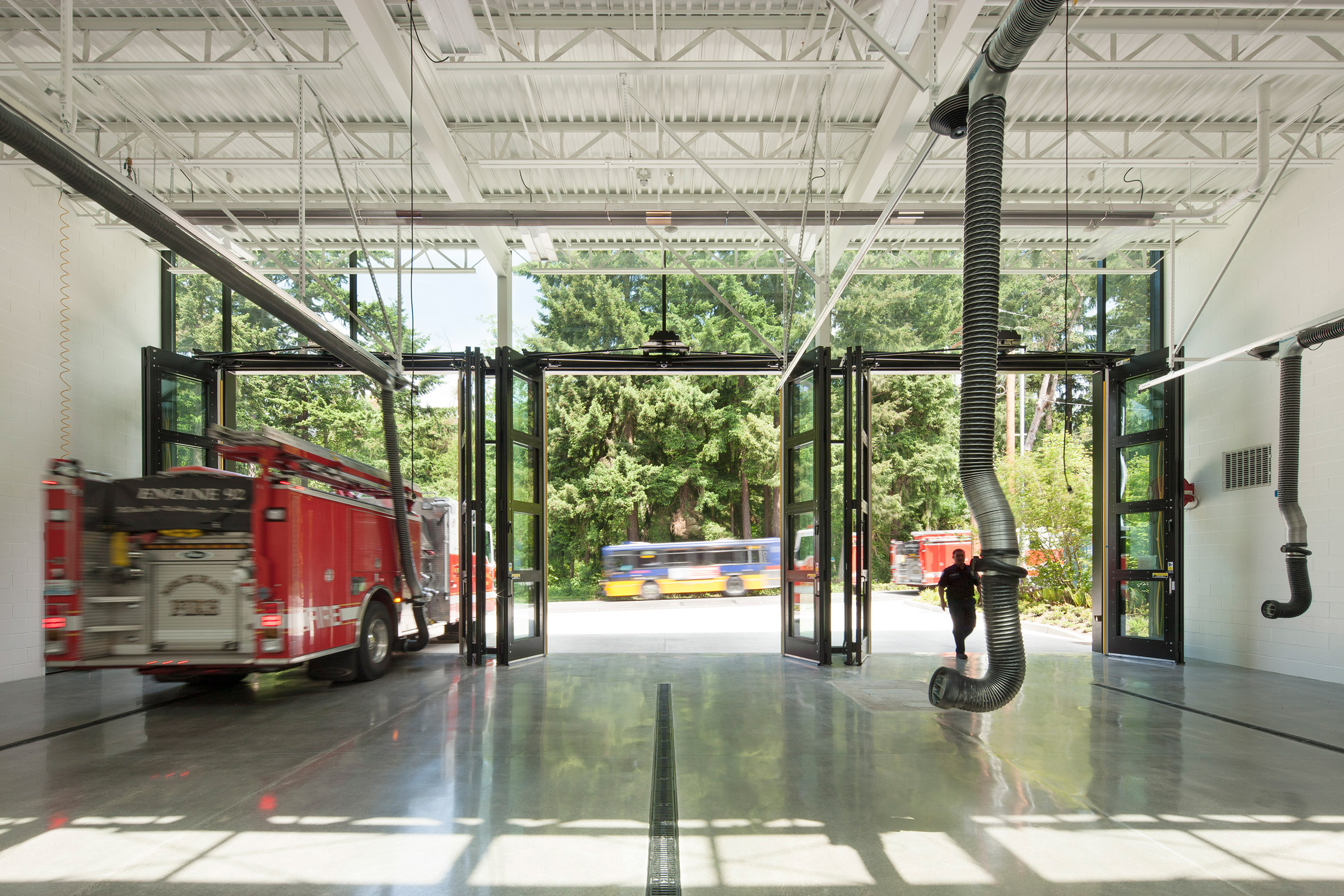Mercer Island Fire Station by Miller Hull