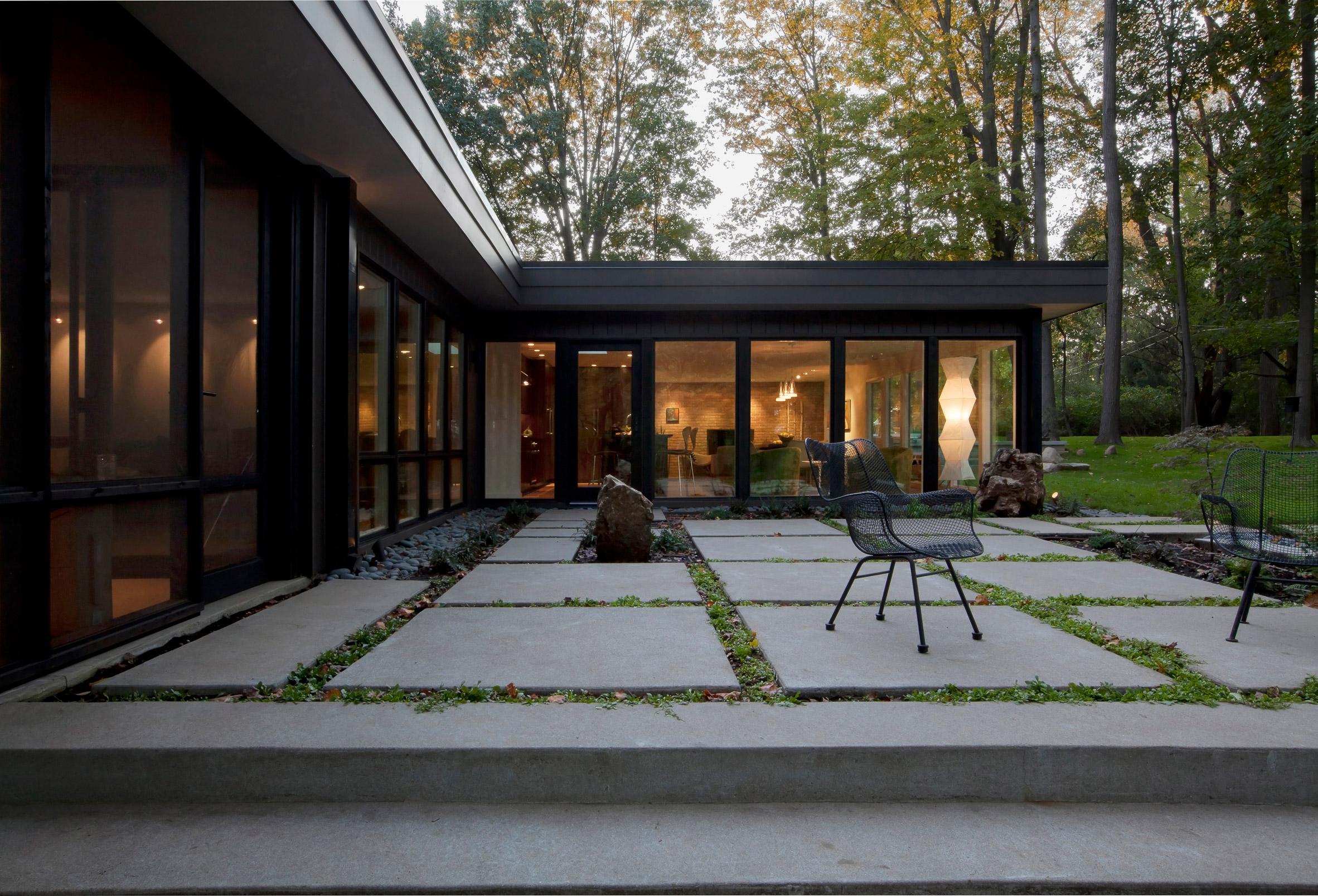 Midcentury Modern Renovation by Haus