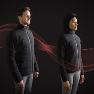 Self-heating smart jacket responds to changes in temperature