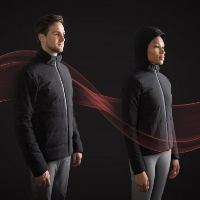 "Ministry of Supply's self-heating jacket uses AI to create a ""microclimate"" for your body"
