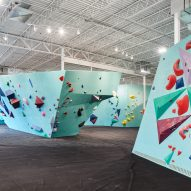 Minneapolis Bouldering Project by Lilianne Steckel