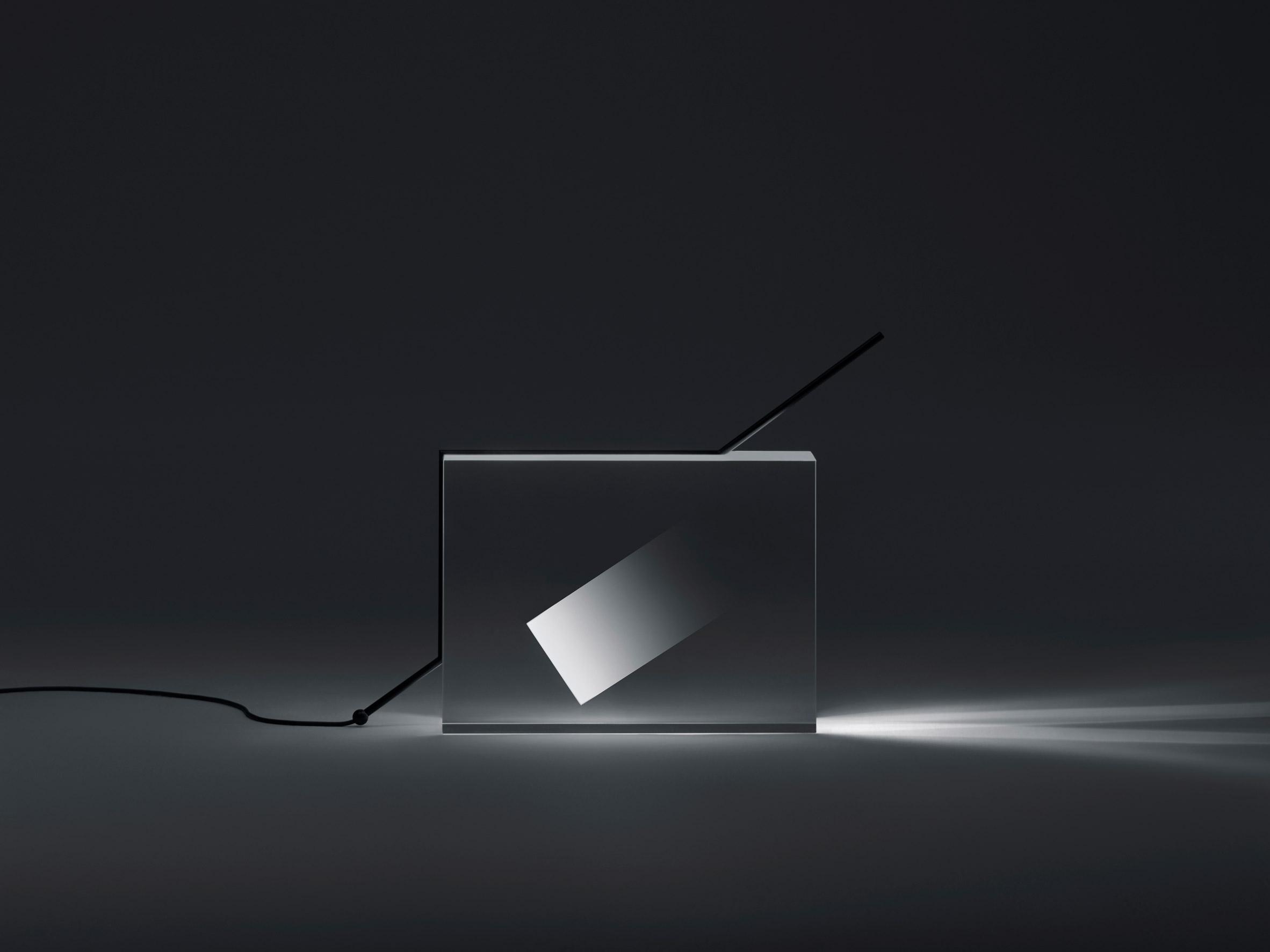 Nendo creates acrylic light sculptures in tribute to Isamu Noguchi