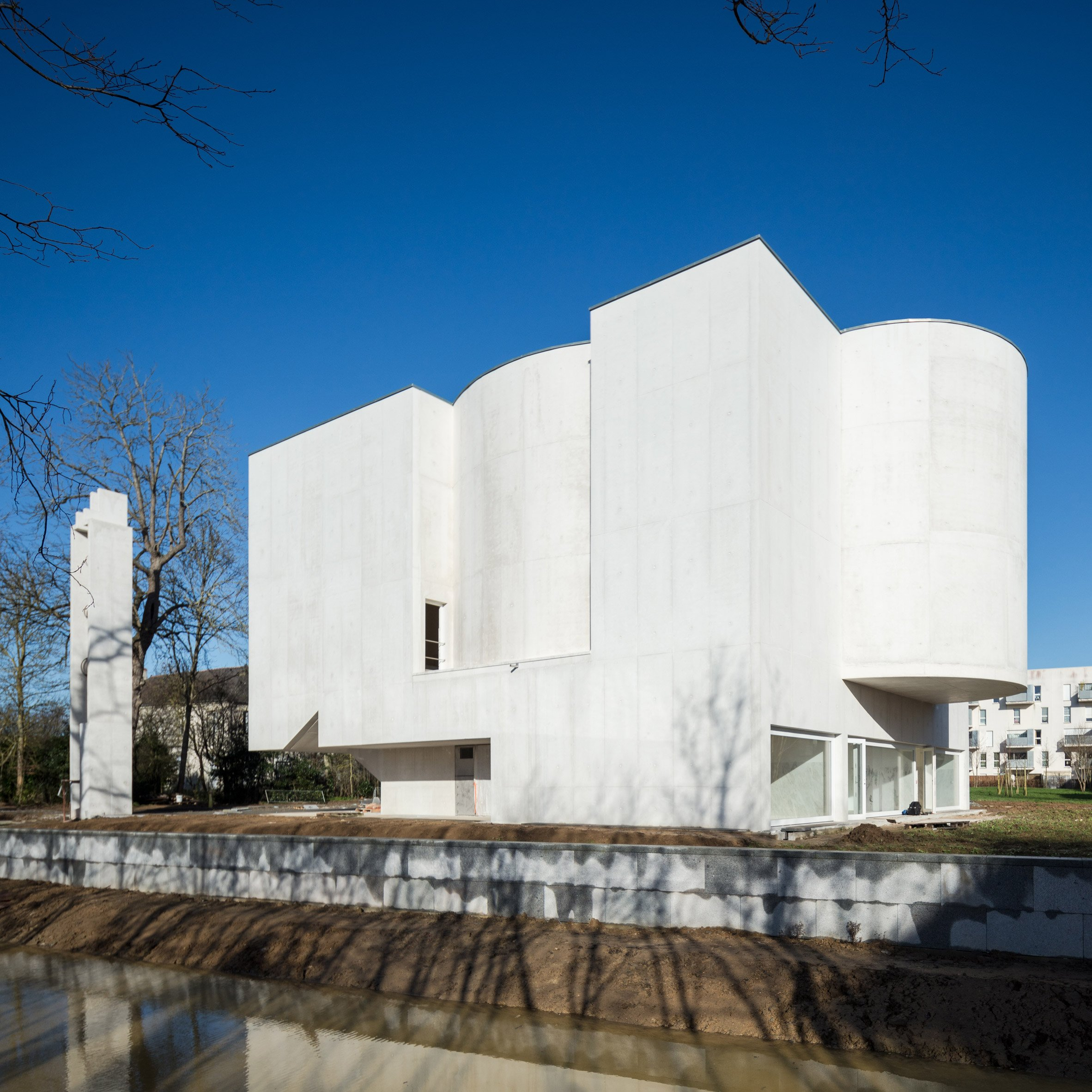 New Church of Saint-Jacques by Alvaro Siza