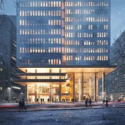 Toronto Courthouse by Renzo Piano Building Workshop