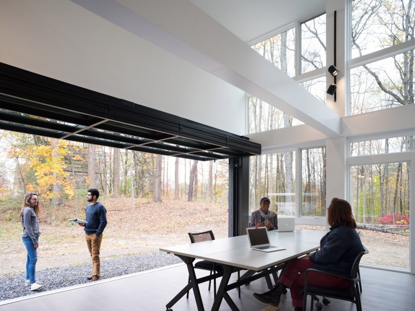 New York Bard College Media Lab by MB Architecture