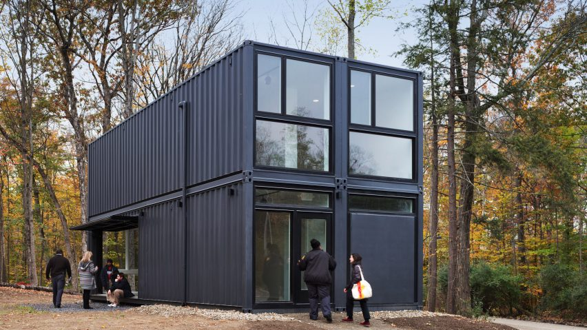 mb architecture constructs university building from shipping containers