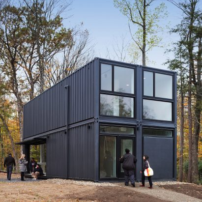 Delightful MB Architecture Constructs University Building From Shipping Containers In  One Day