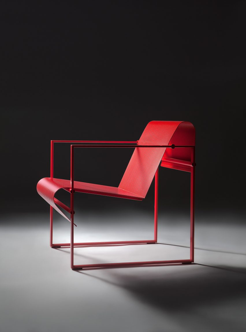 Although The Chairs Differ Completely In Both Look And Colour U2013 Ranging  From Bright Yellow To Deep Red U2013 They All Had To Be Made From Steel And  Aluminium ...