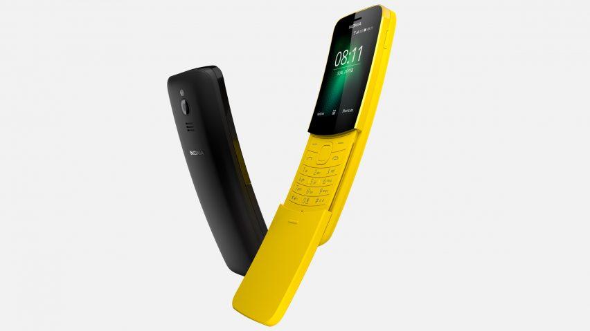"Nokia resurrects bright yellow ""banana phone"""