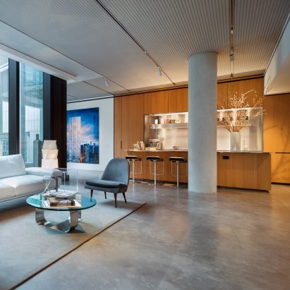 Foster unveils homes for art collectors inside super-skinny New York skyscraper