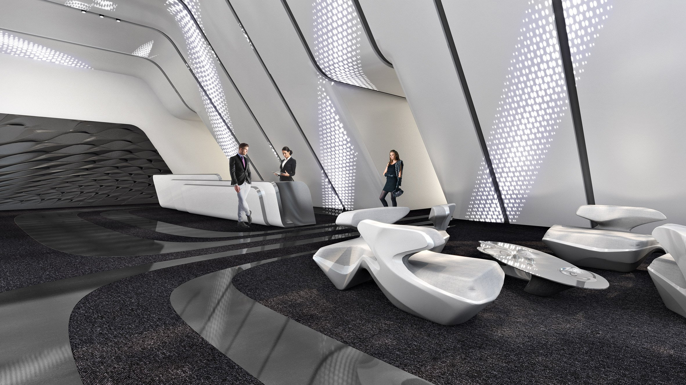 Zaha Hadid's One Thousand Museum tower tops out in Miami