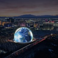 Populous to design spherical music venues in Las Vegas and London