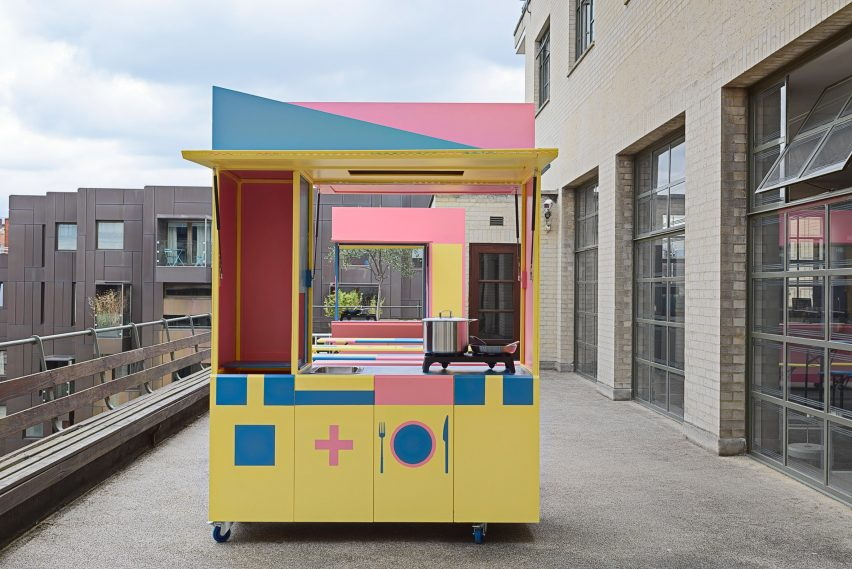 Merrett Houmøller Architects Befriending Kitchen for the British Red Cross