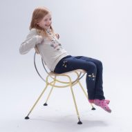 Design students create classroom furniture to help kids concentrate