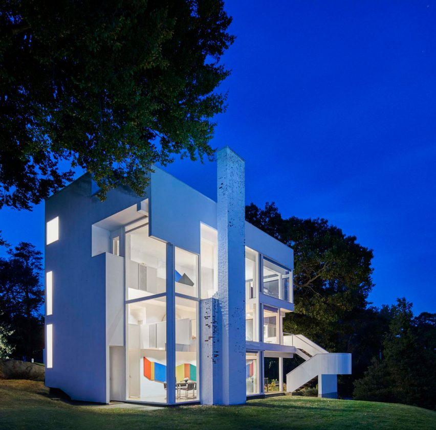 Smith House by Richard Meier & Partners