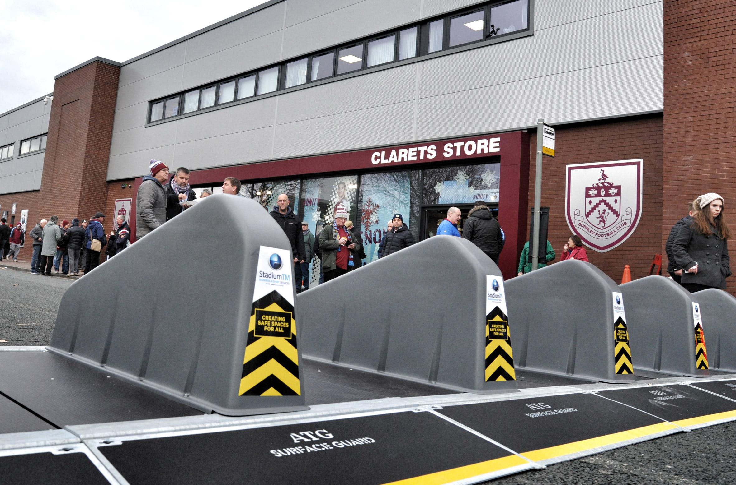 Surface Guard anti-terror barriers by ATG Access