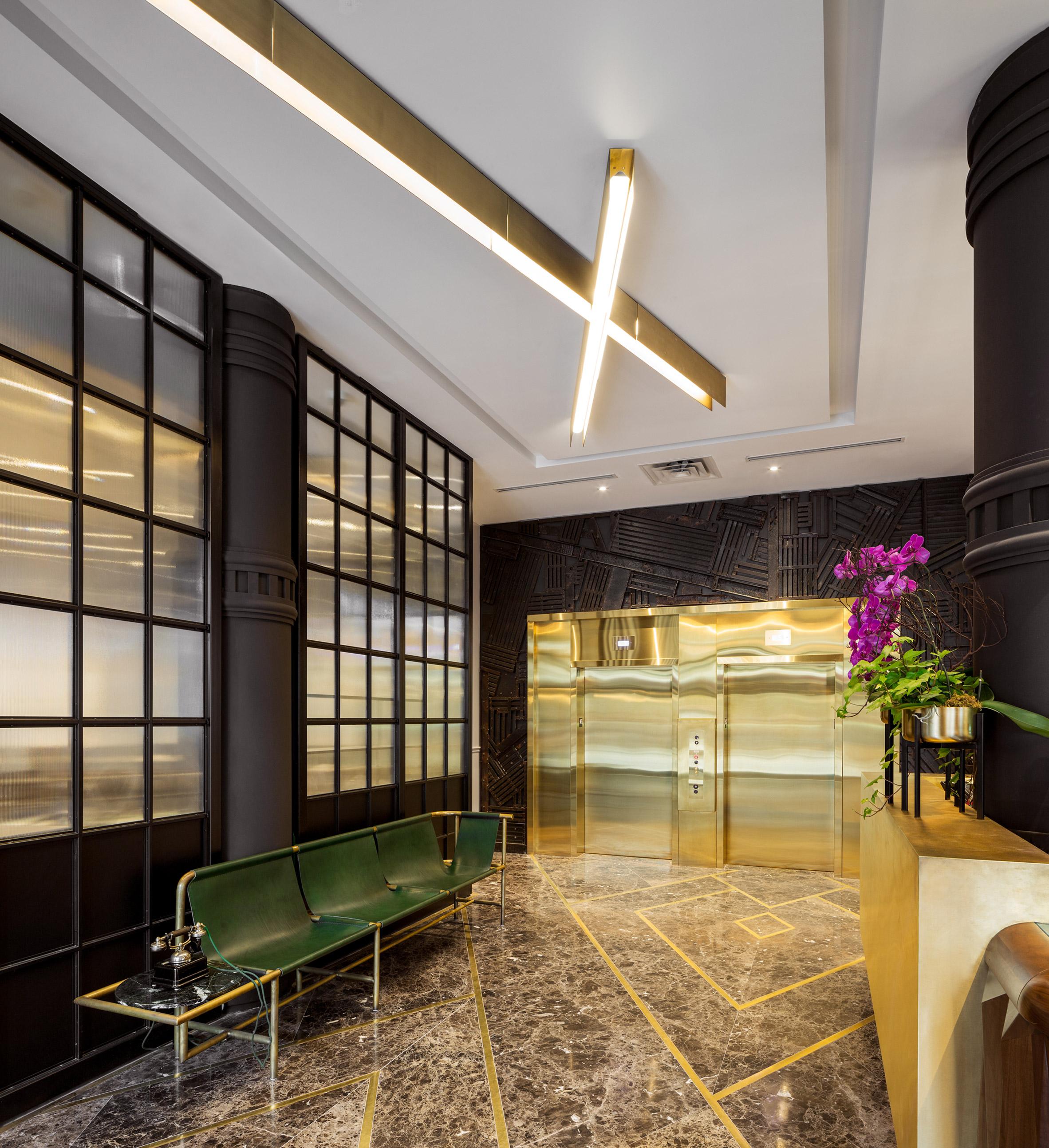 Designagency turns former strip club into boutique toronto for Interior design agency toronto