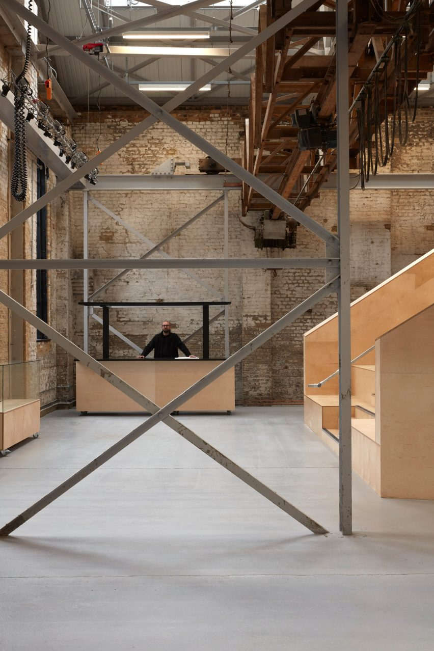 Advanced Frog Stand emrys architects converts east london ironworks into studios