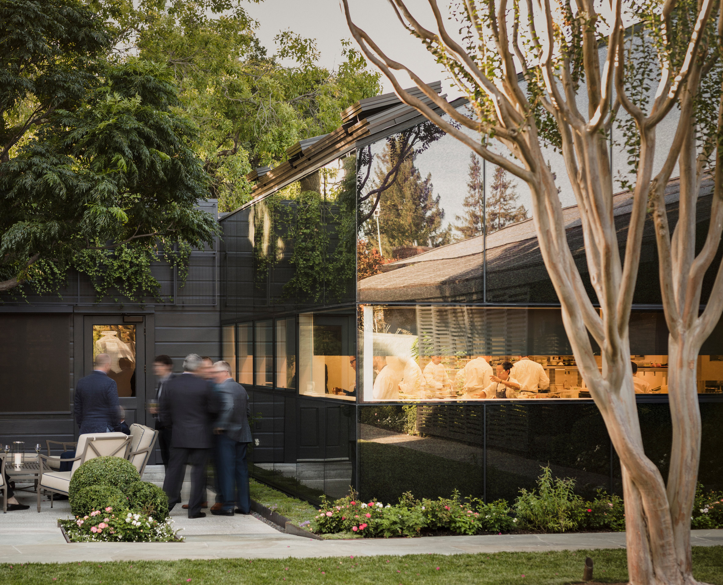 The French Laundry Kitchen Expansion and Courtyard Renovation by Snøhetta