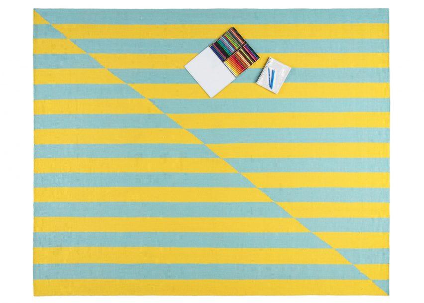 Joe Doucet's graphic rugs celebrate America's transgender community
