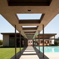 Twin Palms by E Stewart Williams provided a private retreat for Frank Sinatra