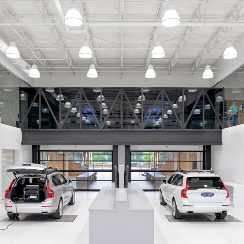 uber builds and tests self driving cars at engineering centre in pittsburgh archiweb 3 0. Black Bedroom Furniture Sets. Home Design Ideas