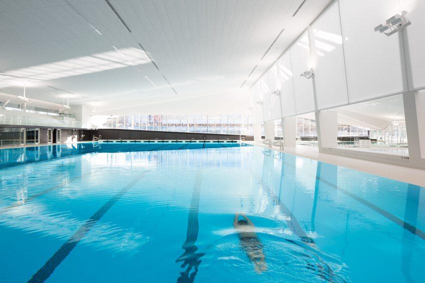 UBC Aquatic Centre by MJMA