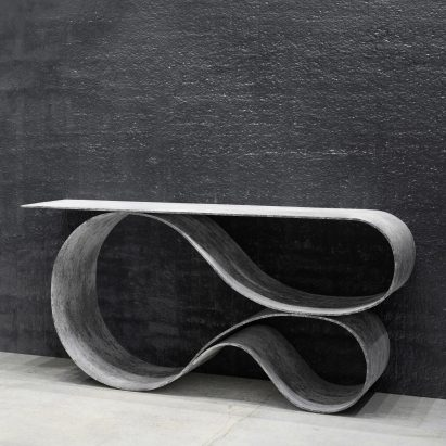 Whorl Console by Neal Aronowitz Design