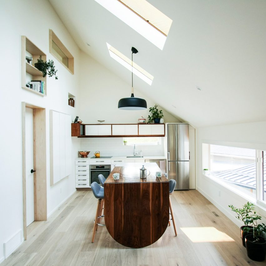 Studio Lighting Calgary: Dog Nook And Fireman's Pole Feature In Laneway House By