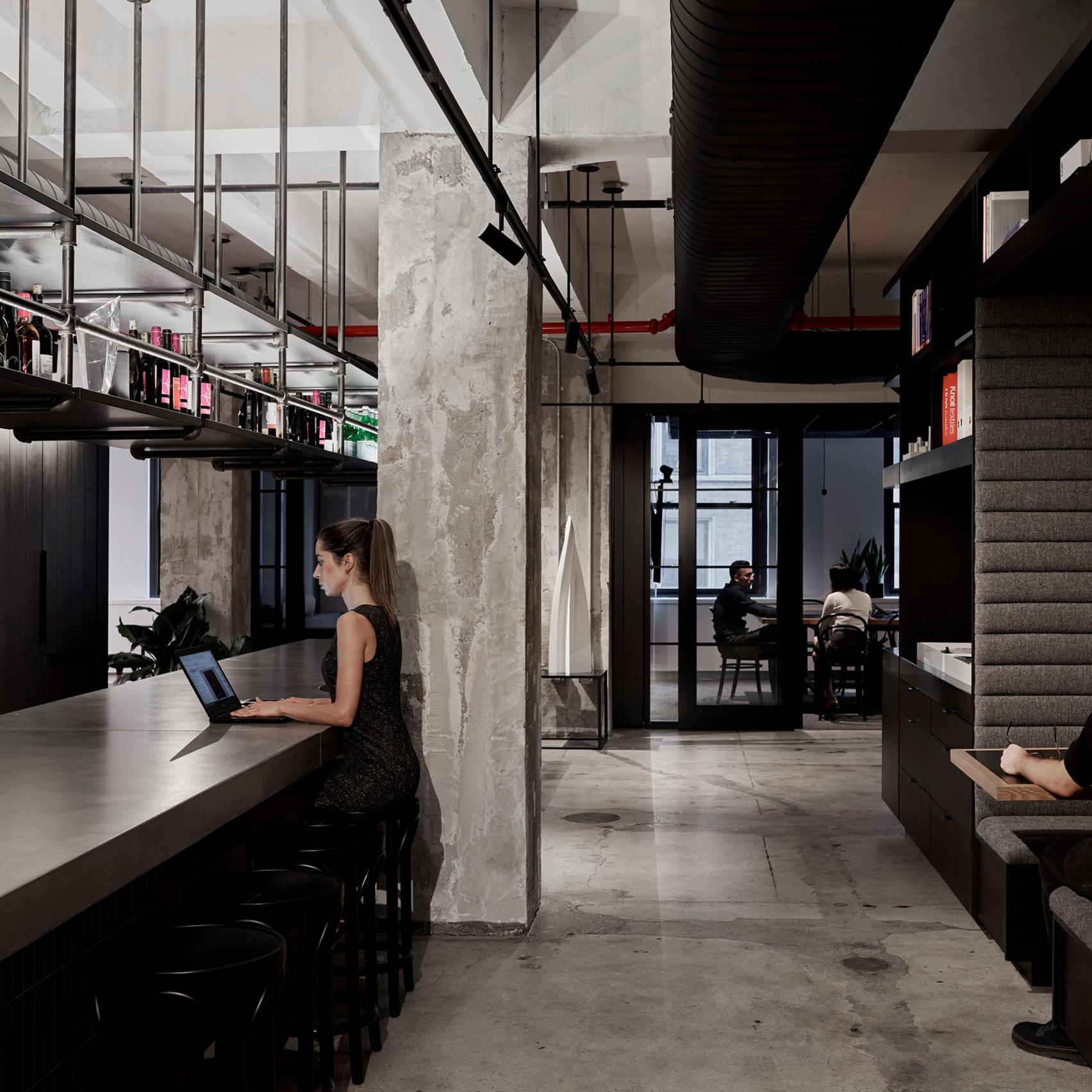 Wood Bagot's self-designed New York studio