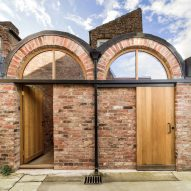 Studio Ben Allen adds pair of brick vaults to terraced house in York