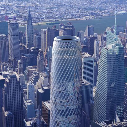RB Systems Envisions Super Slender Cylindrical Skyscraper For New York