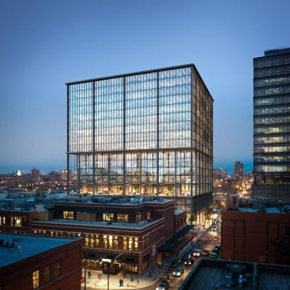 urban office architecture. SOM Unveils Office Tower With Luxury Amenities For Chicago. Architecture Urban