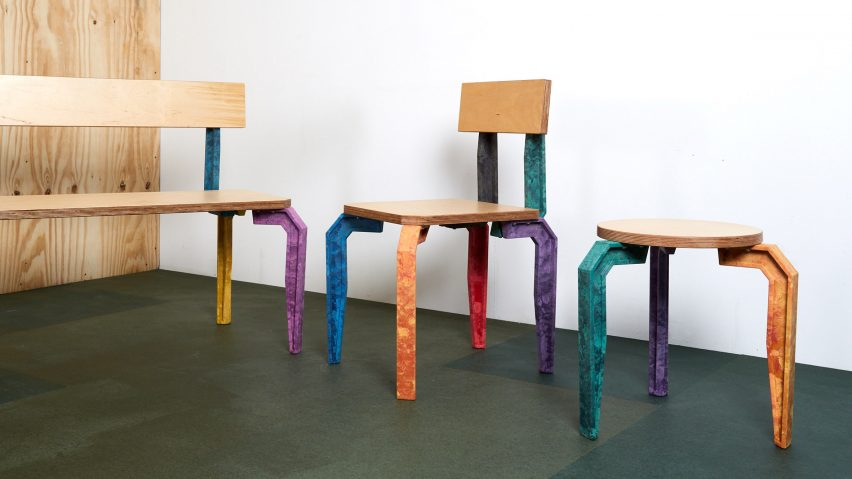 Spacemakers create sell-able furniture to change perceptions of youth in north-west London