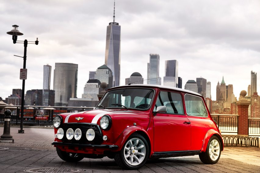 Bmw Electrifies The Classic Mini
