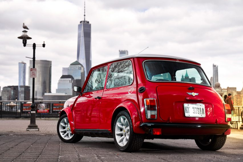 BMW Electrifies The Classic MINI - Classic mini car