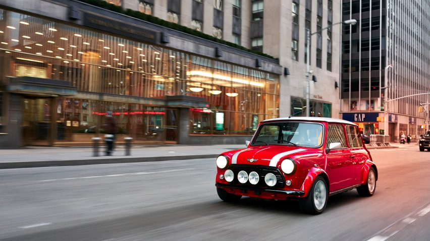 Classic Mini Electric revealed to emphasise brand's EV plans