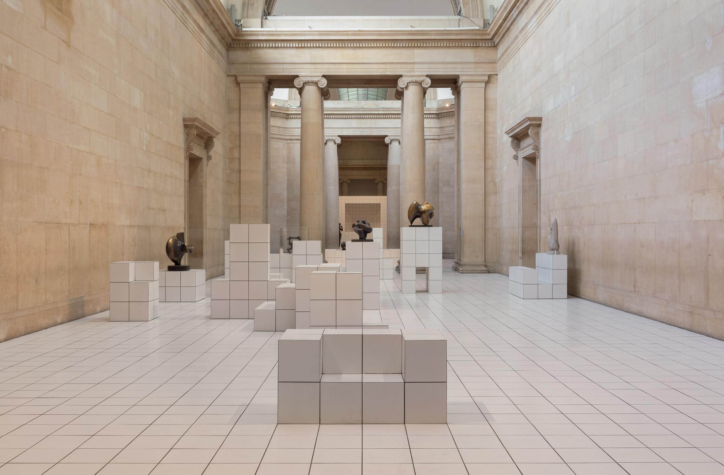 Loewe designs costumes for Anthea Hamilton's Tate Britain installation