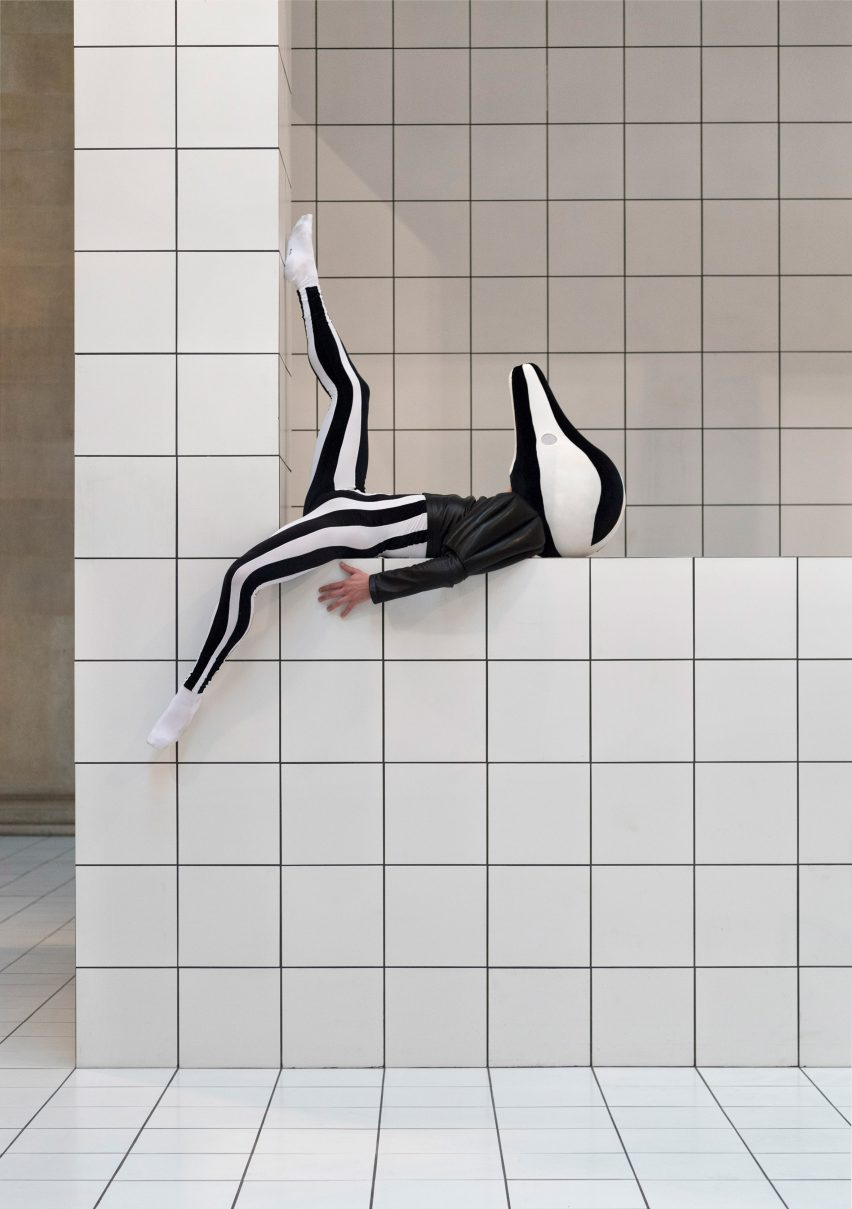 Loewe Designs Costumes For Anthea Hamiltons Tate Britain Installation