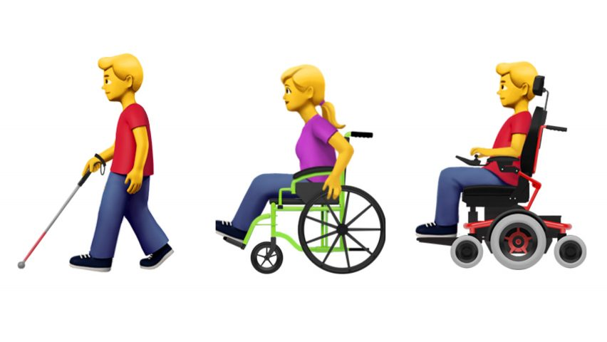 Apple proposes new emojis to represent people with disabilities