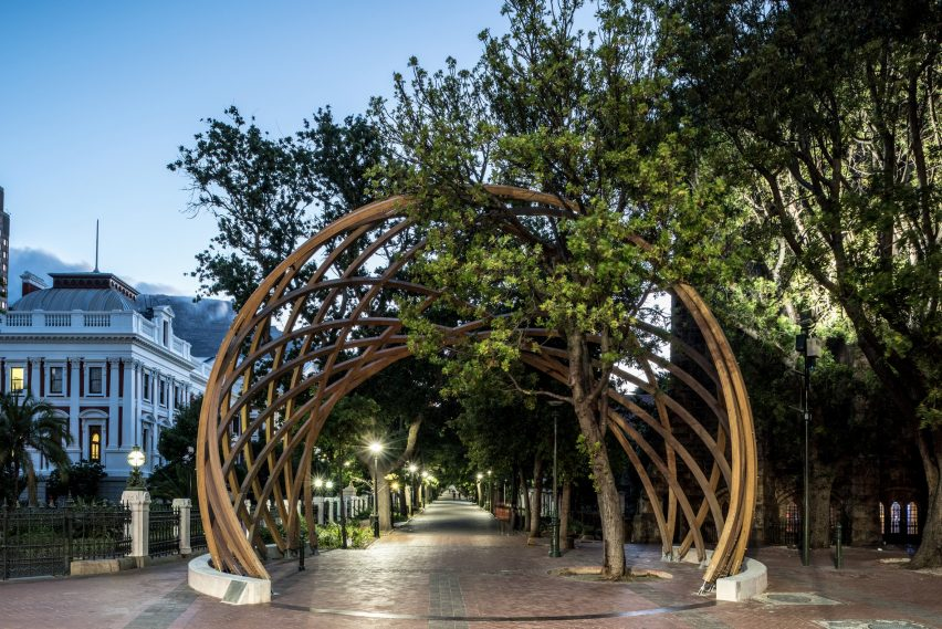 Arch for Archbishop Tutu by Snøhetta