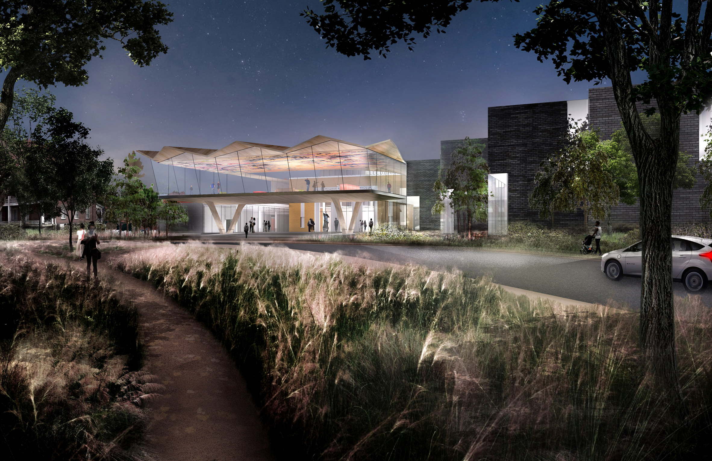 Studio Gang unveils plans for Arkansas Art Center overhaul