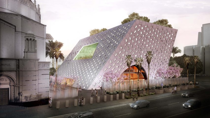 Audrey Irmas Pavilion by OMA