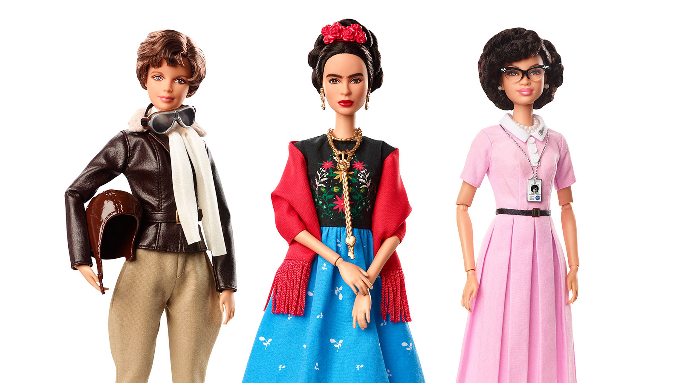 Barbie launches collection of female role models for International Women's Day