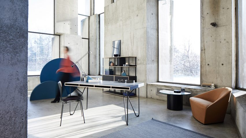 Bene's modular workplace system adapts to home and office use