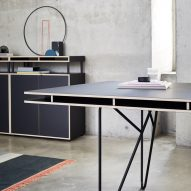 Bene's modular workplace system is aimed at freelancers working from home