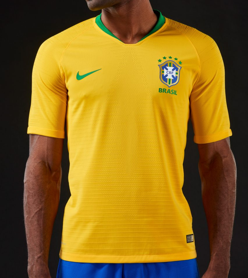5b7776ff6 Brazil's World Cup 2018 kit brings back colours worn by 1970 champions