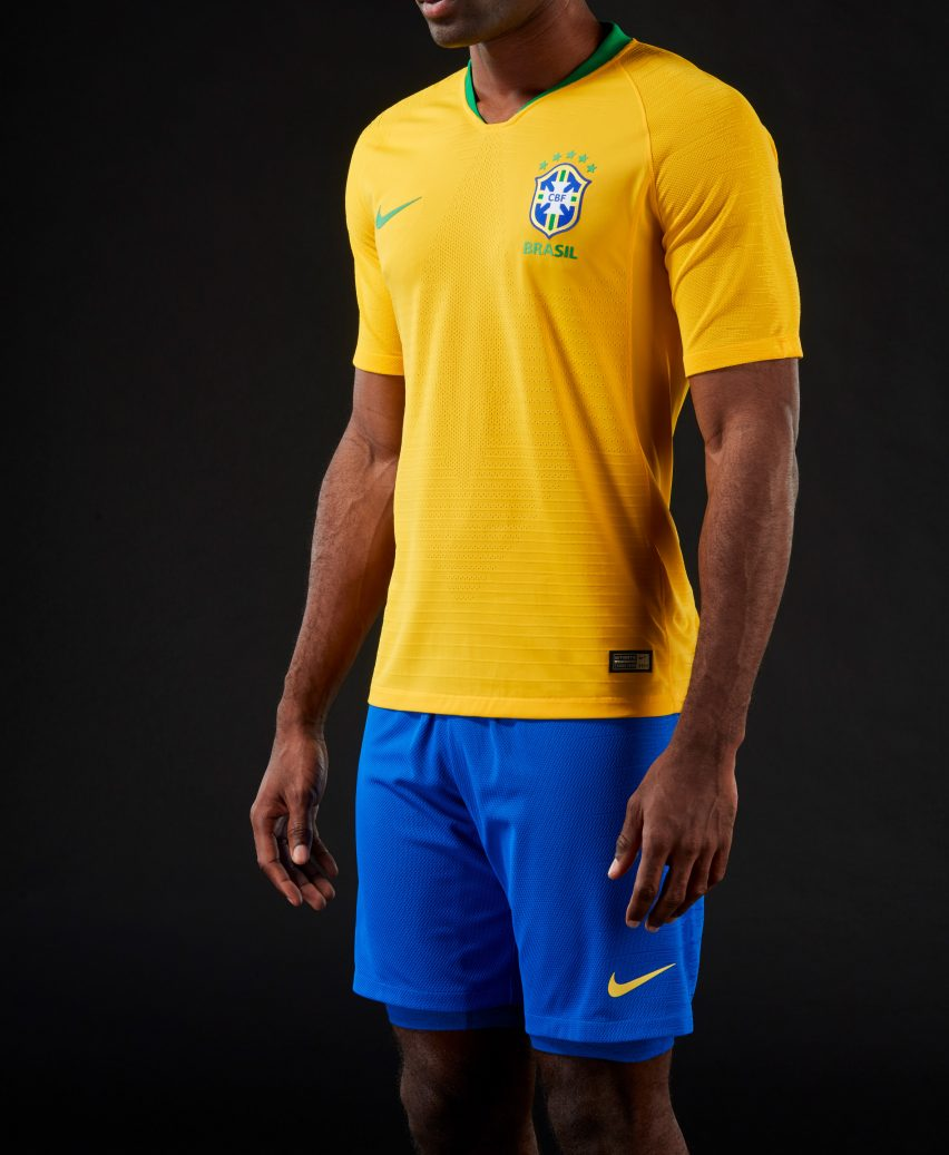 Brazil s World Cup 2018 kit brings back colours worn by 1970 champions 0aa0415fffb9d