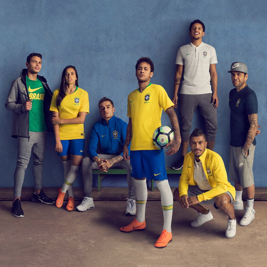 f85c8a84d Brazil s World Cup 2018 kit brings back colours worn by 1970 champions